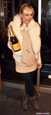 tinsley mortimer in Veuve Clicquot celebrates Clicquot in the Snow