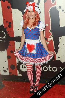 tinsley mortimor in Heidi Klum's 15th Annual Halloween Party
