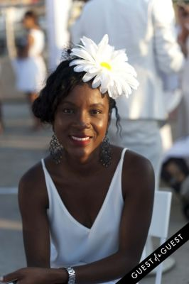 tishann marriott in Le Diner En Blanc 2015