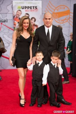 tito ortiz in Premiere Of Disney's