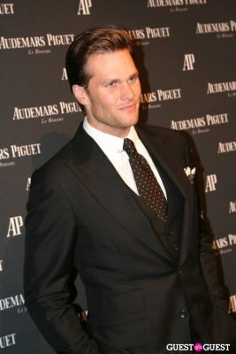 tom brady in Audemars Piguet Royal Oak 40 Years New York City Exhibition Gala