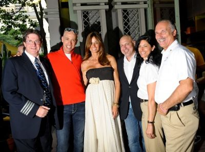 kelly bensimon in Bryant Park Southwest Porch Opening