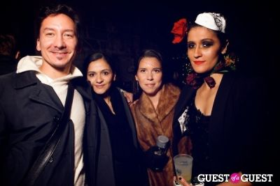 tomas janka in Taka Taka: Mexican Sushi + Japanese Tacos Day of the Dead Grand Opening