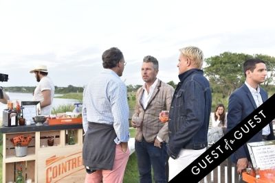 tommy bostwick in Cointreau & Guest of A Guest Host A Summer Soiree At The Crows Nest in Montauk