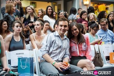 tommy mcfly in The Front Row Runway Show