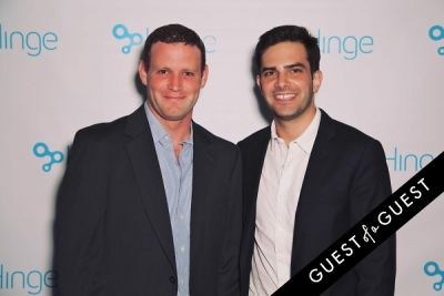 tommy tysper in Hinge App LA Launch Party