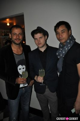 shawn edward in Samurai Love Sake and Tsubo Celebrate Timo Weiland Spring Collection