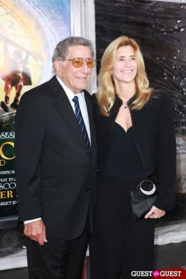 tony bennett in Martin Scorcese Premiere of