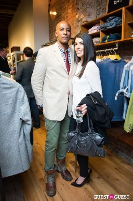 tony hudgins in GANT Spring/Summer 2013 Collection Viewing Party