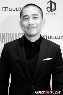tony leung in The Grandmaster NY Premiere