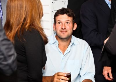 tony romo in WHCD First Amendment Party