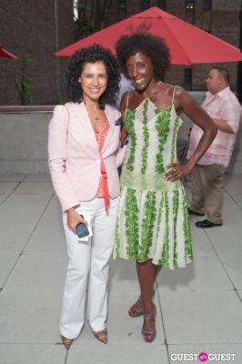 tonya miller in GMHC Fashion Forward Rooftop Reception