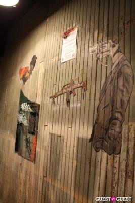 toven in Graffiti Warehouse Fashion Shoot
