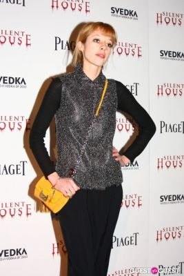 tracy antonopoulos in Silent House NY Premiere