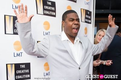 tracy morgan in Creative Coalition WHCD Dinner