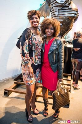 sharon hymes in Celebrity Hairstylist Dusan Grante and Eve Monica's Birthday Soirée