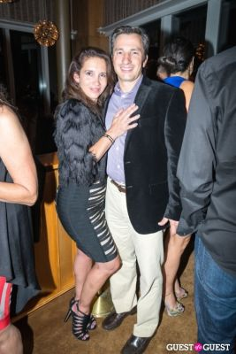 victor lamara-finnerty in BCBGMAXAZRIA Runway After Party