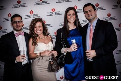 heather fuchs in American Heart Association Young Professionals Red Ball