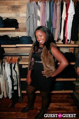 tyisha williams in Ronnie Fieg's Flagship Store Launch