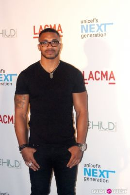 tyler lepley in UNICEF Next Generation LA Launch Event