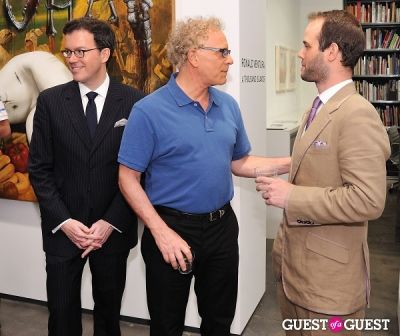 michael cohn in Ronald Ventura: A Thousand Islands opening at Tyler Rollins Gallery