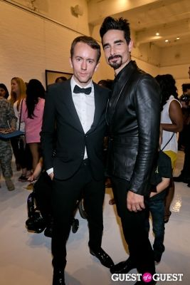 tyler shields in Tyler Shields and The Backstreet Boys present In A World Like This Opening Exhibition