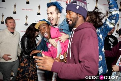 tyler the-creator in Terrywood - Terry Richardson Gallery Opening