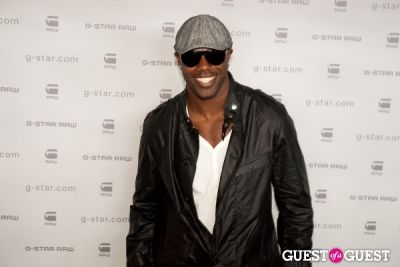 tyson beckford in G-Star Raw Runway Show