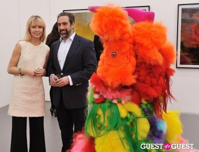 adam greenberger in Bowry Lane group exhibition opening at Charles Bank Gallery