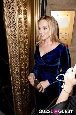 uma thurman in The 8th Annual UNICEF Snowflake Ball