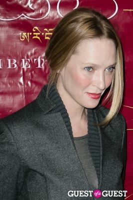 uma thurman in The 10th Annual Tibet House US Benefit Auction