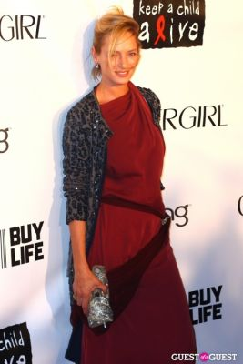 uma thurman in COVERGIRL Presents, Keep A Child Alive's Black Ball NY 2010