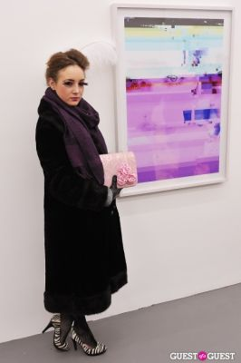valarie termini in Bowry Lane group exhibition opening at Charles Bank Gallery