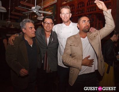 valentino herrera in George Abou-Daoud Hosts Party for Top Chef's CJ Jacobson At Hollywood Wine Bar, The Mercantile