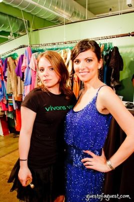 valeria tignini in The Green Room NYC Presents a Trunk Show and Cocktails