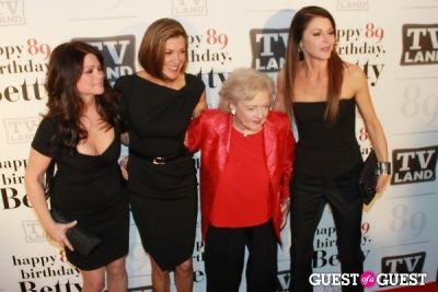 valerie bertinelli in Betty White's 89th Birthday Party