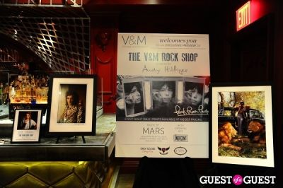 the darby in V&M and Andy Hilfiger Exclusive Preview Event of The V&M Rock Shop