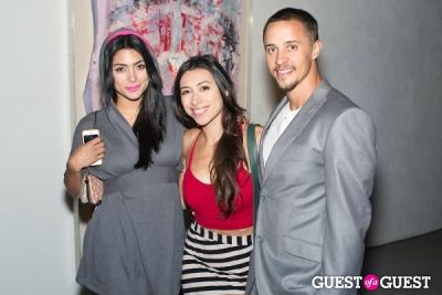 vanessa cure in Preview Party for Billy Zane's Solo Art Exhibition: