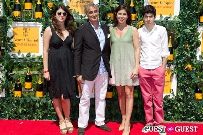 olivia bensimon in Veuve Clicquot Polo Classic 2013