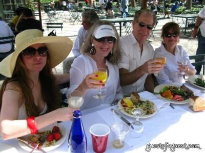 racine berkow in Belgium Brunch in Bryant Park