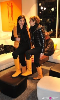sabina belli in Veuve Clicquot celebrates Clicquot in the Snow