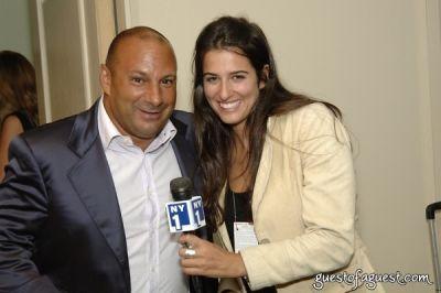 venanzio ciampa in USA Homeless Soccer Team Jersey Presentation at Cipriani Wall Street