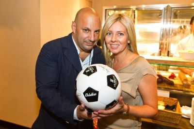 robin merendino in Hublot and Manchester United Million Dollar Challenge