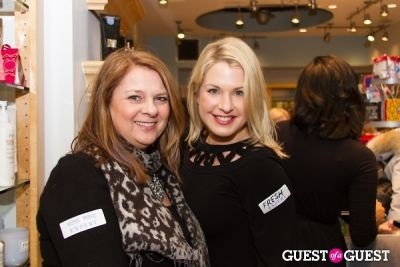 veronica barnes in Bluemercury Holiday Shopping Party