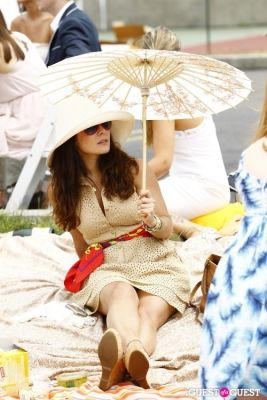 veronica biggi in Veuve Clicquot Polo Classic at New York