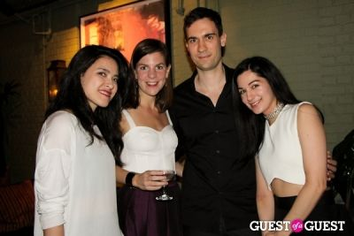 veronica gledhill in New York magazine and The Cut's Fashion Week Party