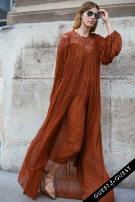 veronika heilbrunner in Paris Fashion Week Pt 4