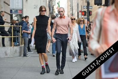 justin o-shea in Fashion Week Street Style: Day 4