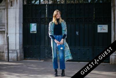 veronkia heilbrunner in Paris Fashion Week Pt 1