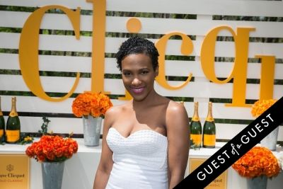 vicky jeudy in Veuve Clicquot Polo Classic 2014